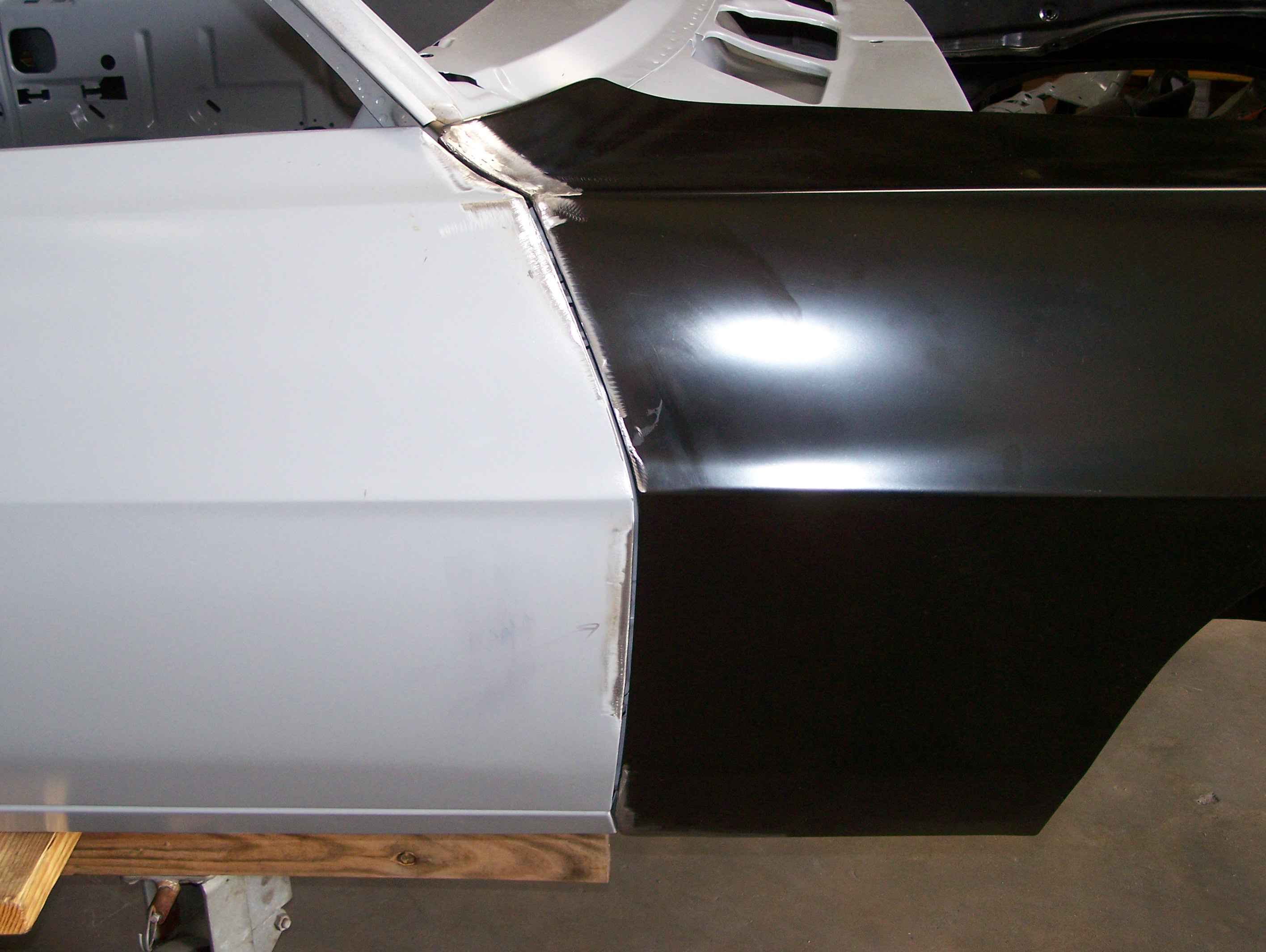 Once The Fenders Were Fit We Installed The Header Panel