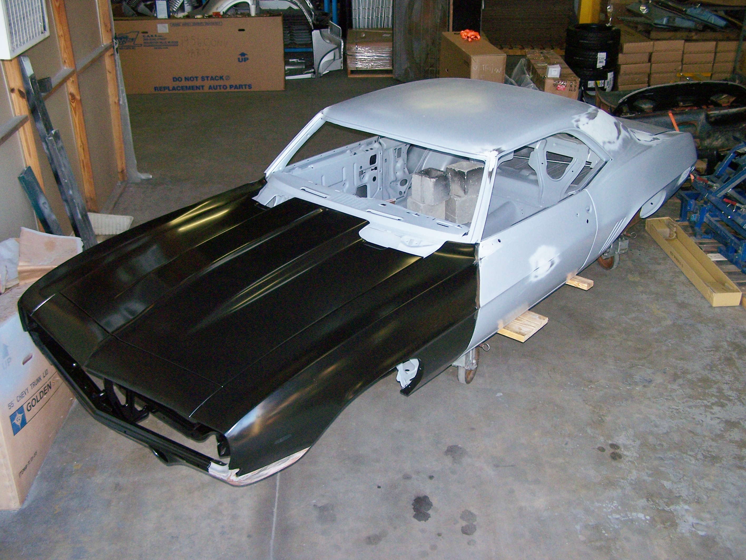 Real Deal Steel NMCA \'69 Camaro RS/SS Quick Build