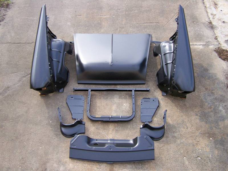 Gm 1955 Chevy Complete Front End Sheetmetal Package With