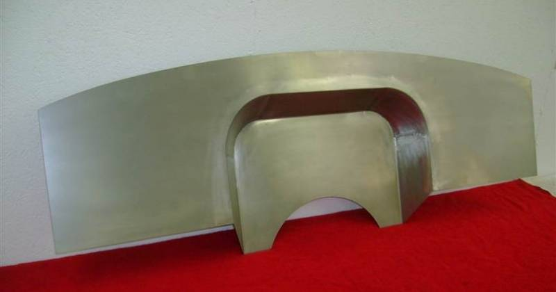 "1955 Chevy Truck >> 1955-56 Chevy 4"" Recessed Smoothie Steel Firewall"