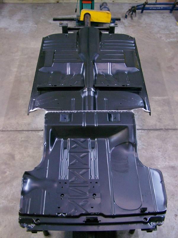 Gm 1955 57 Chevy 2 Amp 4 Door Sedan Fully Welded Floor With