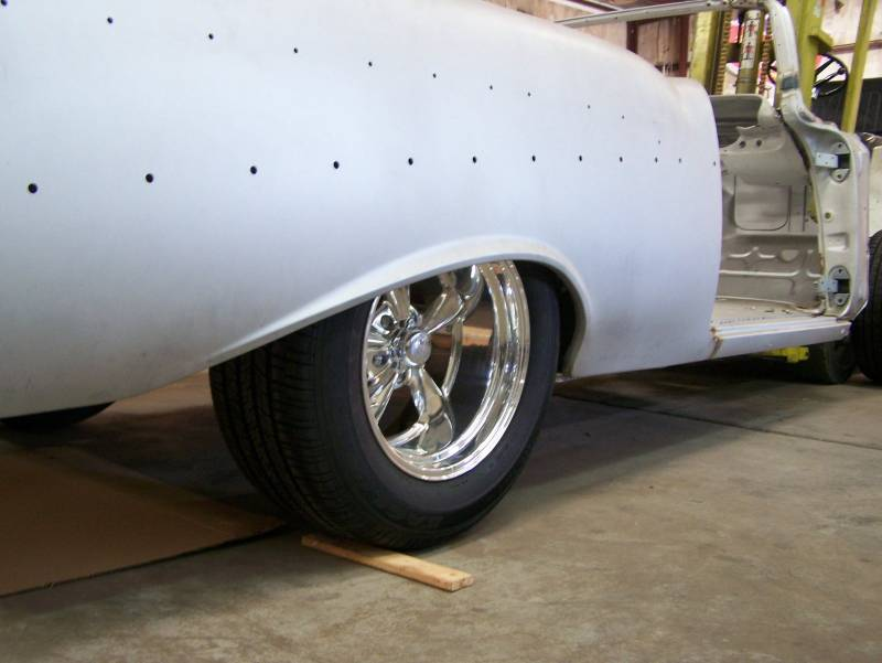 1955-57 Chevy Body Mini-Tub Option