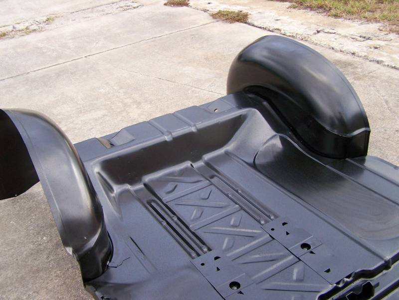 Ford Body Parts >> GM - 1955-57 Chevy Wider Trunk Wheel Well Tubs & Pre ...