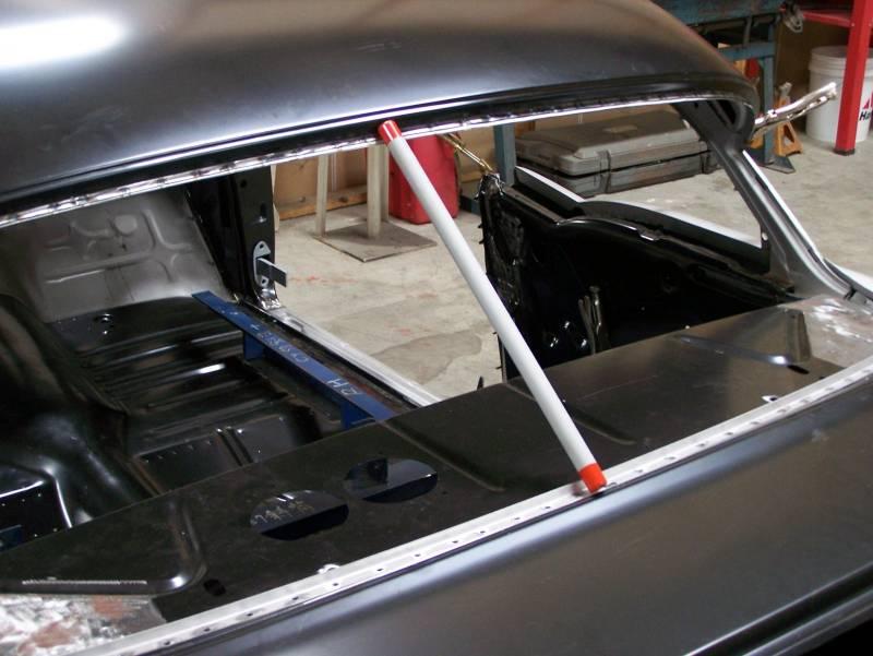 1957 Chevy 2 Door Sedan Top Roof Structure And Skin
