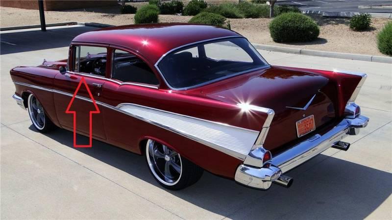 1955 57 chevy 210 2 door sedan station wagon door for 1955 chevy 4 door to 2 door conversion