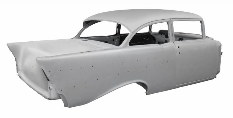 1957 Chevy 4 Door Sedan To 2 Door Sedan Tubbed Sheetmetal
