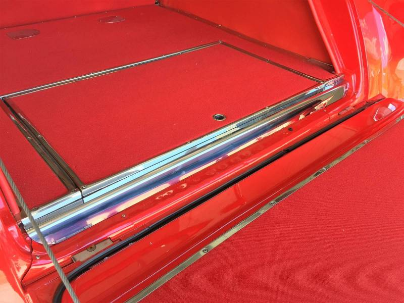 1955-57 Chevy Nomad/Station Wagon/Sedan Delivery Rear