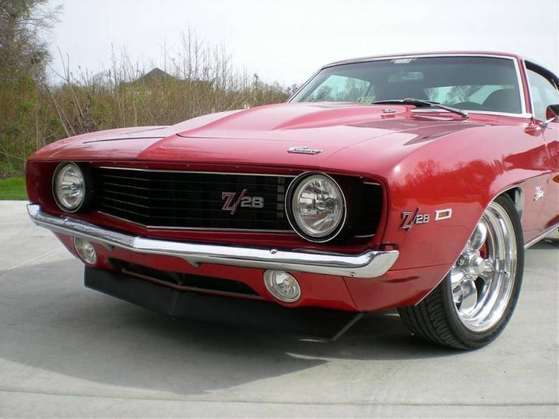 1969 Chevrolet Camaro Chrome Front Bumper Image 2
