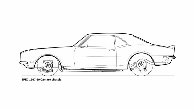 1967 firebird roadster shop spec chassis