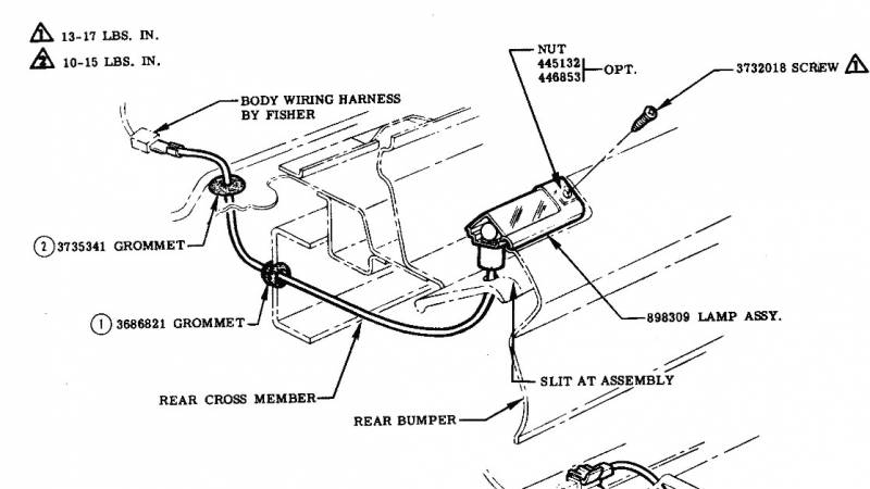 57 Chevy Wiring Harnes Installation On Picture