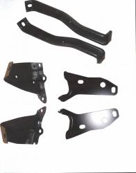 GM - 1957 Chevy Rear Bumper Bracket Set 6-Piece