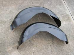 GM - 1955-57 Chevy Wider Trunk Wheel Well Tubs Pair