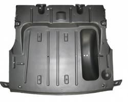 GM - 1949-52 Complete Trunk Floor With Braces & Spare Tire Well