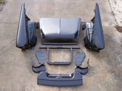GM - 1955 Chevy Complete Front End Sheetmetal Package With 6-Cylinder Core Support