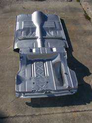 GM - 1955-57 Chevy Convertible Fully Welded Floor With Braces And Trunk Floor