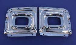 GM - 1956 Chevy Chrome Parking Light Backing Panels