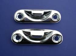 GM - 1955-57 Chevy Convertible Top Handle Chrome Striker Plates