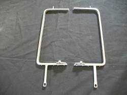 GM - 1955-57 Chevy Sedan/Station Wagon/Delivery Chrome Vent Window Frames With Latches Pair
