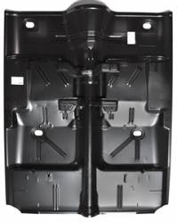 1962-67 Chevy II Nova Floor Pan Complete With Bucket Seat Brackets Without Inner/Outer Rockers