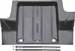 1962-67 Chevy II Trunk Floor With Gas Tank Braces And Straps