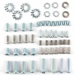 1955-57 Chevy 2&4-Door Hardtop, Convertible & Nomad Vent Window Assembly Screw Set