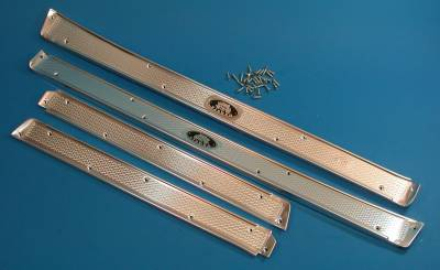 GM - 1956-57 Chevy 4-Door Hardtop Sill Plates