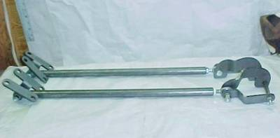 1955-57 Chevy Fully Adjustable Traction Bar Kit