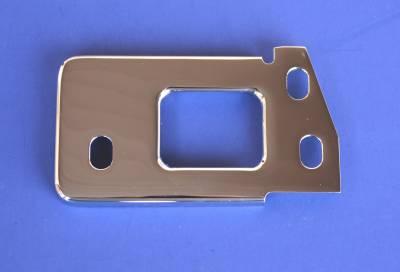 1955-57 Chrome Hood Latch Striker Plate