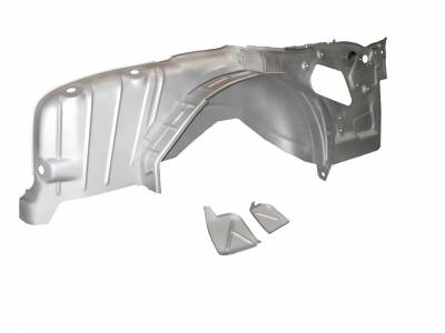 1955-57 Chevy 2-Door Hardtop Mini-Tubbed Right Inner Quarter Panel Complete