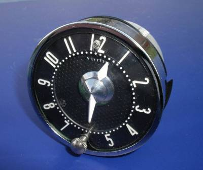 1955-56 Chevy Quartz Clock