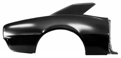 1967 Camaro Coupe Right Full Quarter Panel By AMD