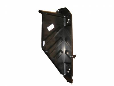 1957 Chevy Left Outer Cowl Side Panel With Hinge Pockets