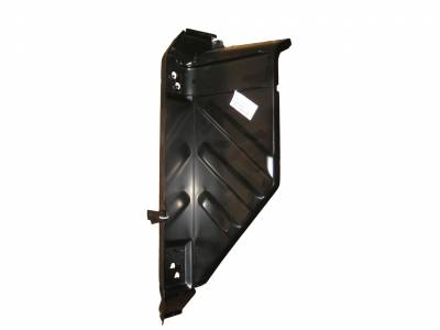 1957 Chevy Right Outer Cowl Side Panel With Hinge Plates
