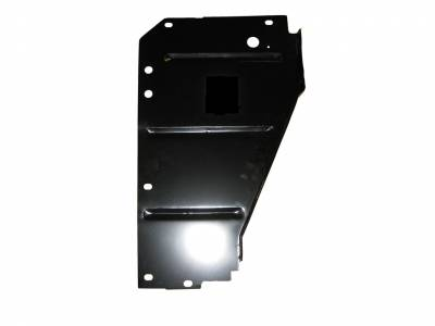 GM - 1955 Chevy Right Radiator Core Support Filler Panel