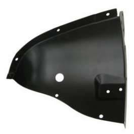 GM - 1957 Chevy Left Inner Fender Drain Tube Splash Shield