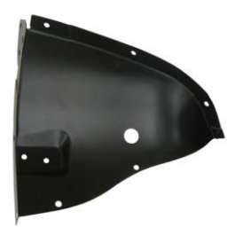 GM - 1957 Chevy Right Inner Fender Drain Tube Splash Shield