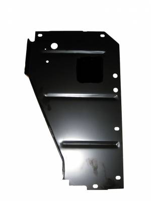 GM - 1956 Chevy Left Radiator Core Support Filler Panel