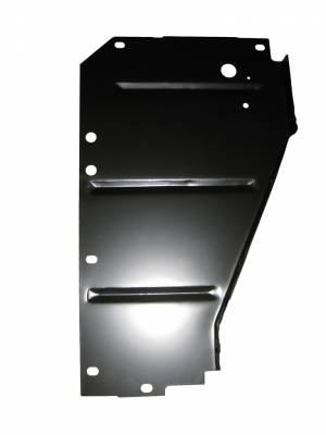 GM - 1956 Chevy Right Radiator Core Support Filler Panel