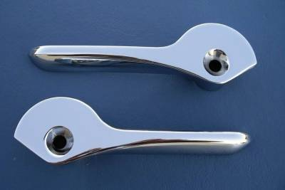 1955-60 Chevy Convertible Chrome Top Handles