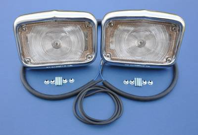 GM - 1956 Chevy Parking Light Housings Pair