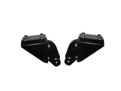 GM - 1955-57 Chevy Convertible Top Rack Rear Mounting Bracket Assemblies Pair