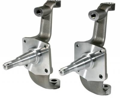 GM - 1955-57 Chevy Stock Drum Brake Front Spindles