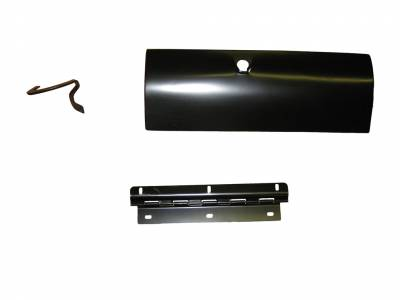 GM - 1957 Chevy Glove Box Door, Hinge & Arm Assembly