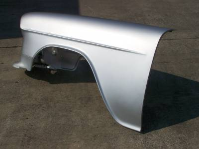 GM - 1955 Chevy Left Front Inner/Outer Fender Assembly