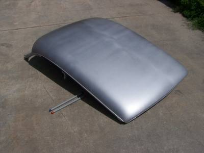 1955-56 Chevy 2-Door Hardtop Fully Welded Top/Roof Structure And Skin Assembly Complete