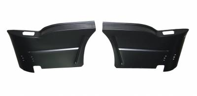 GM - 1955-57 Chevy 2-Door Hardtop Rear Armrest Bases Pair