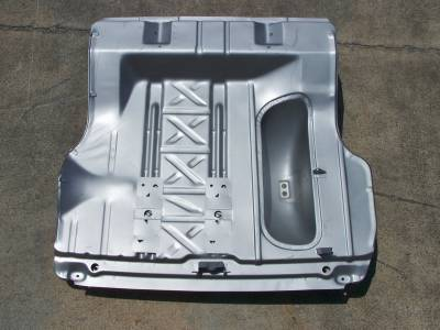 GM - 1955-57 Chevy All Except Convertible Trunk Floor w/Braces