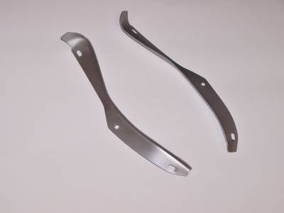 1955-57 Chevy Cowl Side Drain Gutters Pair
