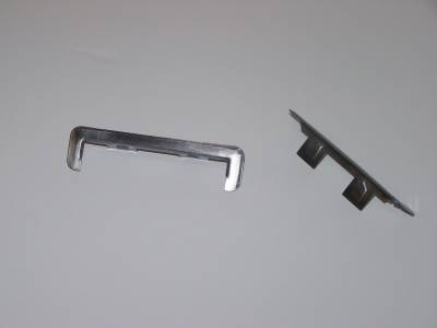 GM - 1955-57 Chevy Station Wagon & Nomad Tailgate Hinge Trim Pair