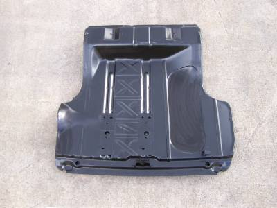 GM - 1955-57 Chevy Trunk Floor Use With Wider Wheel Well Tubs